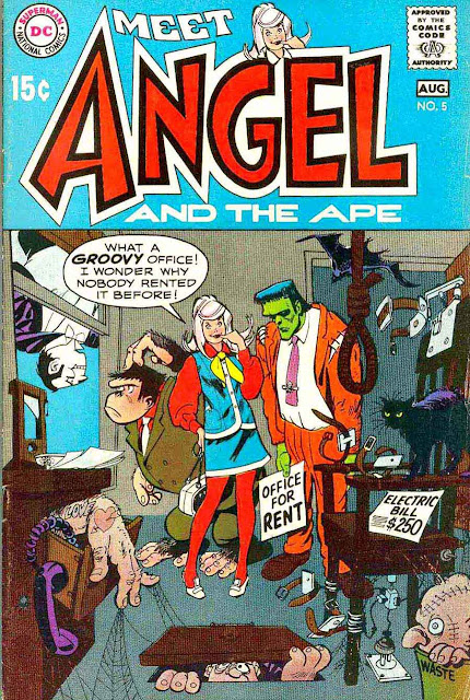 Angel and the Ape (1991 Limited Series) comic books