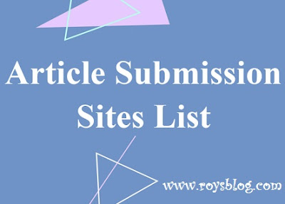 article submission sites list, top article submission sites list, free article submission sites list, top free article submission sites list, best article submission sites list