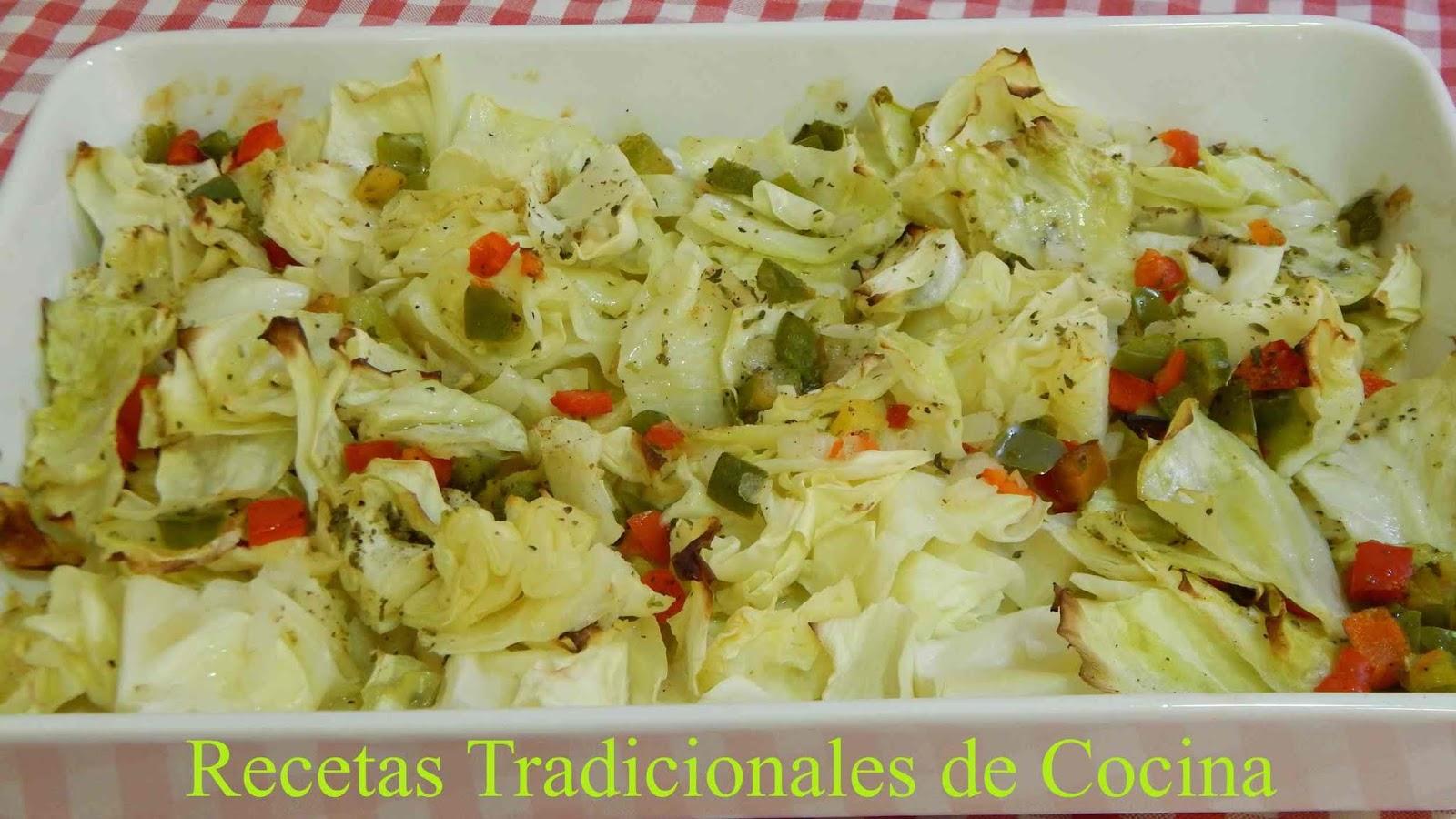 Receta Casera De Repollo Asado Con Verduras Y Fácil, Económico Y Saludable