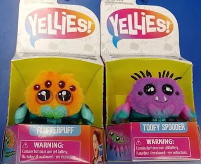 Yellies паучки