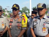 Memasuki Musim Penghujan, Polres Lampung Utara Gelar Apel Siaga Bencana