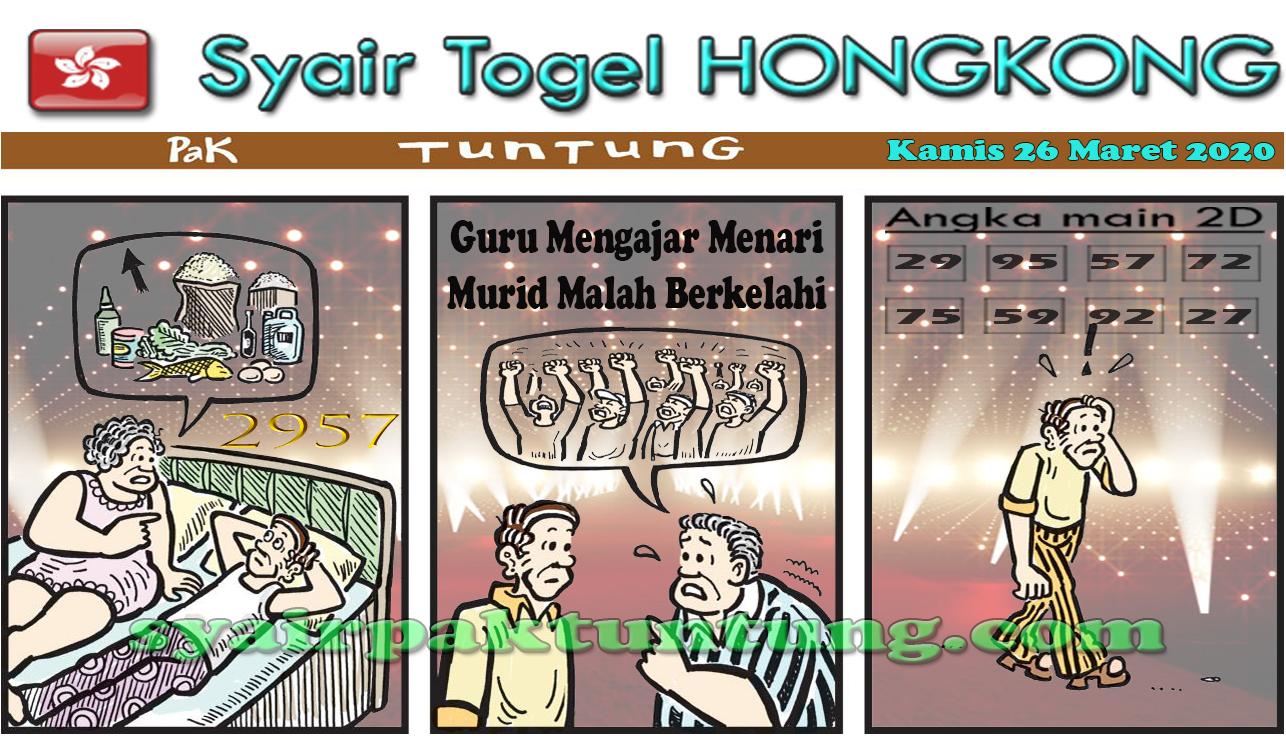 Prediksi Togel Hongkong Kamis 26 Maret 2020 - Prediksi HK Pak Tuntung