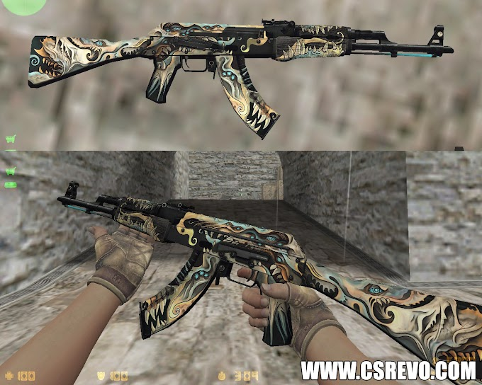 Skin AK47 - Phantom Disruptor (CS:GO) - HD para CS 1.6