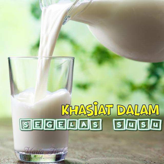 Khasiat dalam segelas susu!