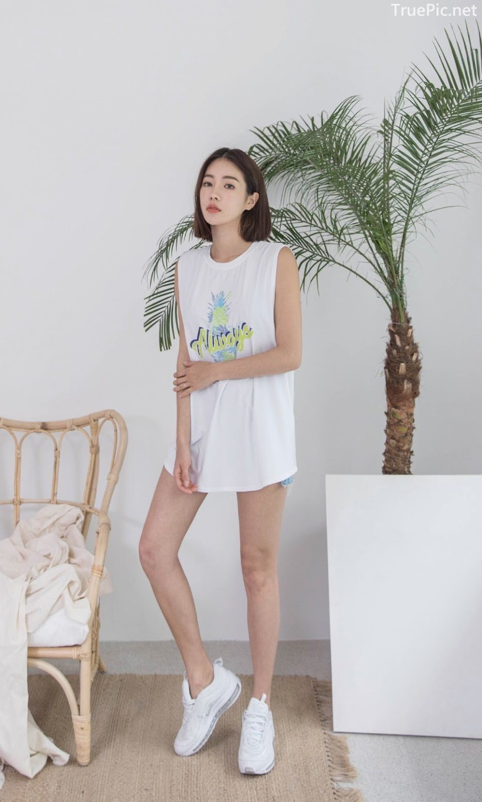 Korean model and fashion - An Seo Rin - Summer personality clothing for young girls - Picture 2