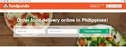FoodPanda PH Online Food Delivery