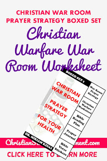 Christian War Room Worksheet