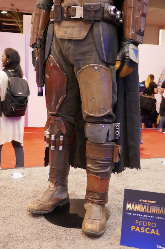 Mandalorian costume legs boots