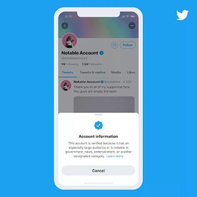 Cara Verifikasi Akun Twitter 2021