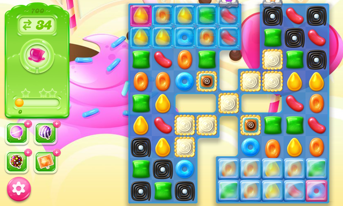 Candy Crush Jelly Saga level 700