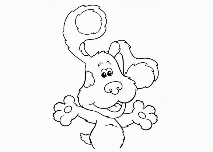 blues clues coloring pages free coloring pages and coloring