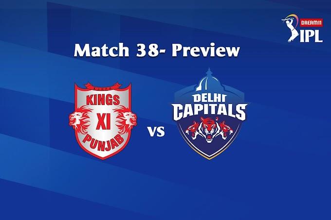 जानिए कौन जीतेगा आज का मैच ? KXIP vs DC 20th October 2020