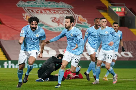 This means more: Gundogan trips the light fantastic