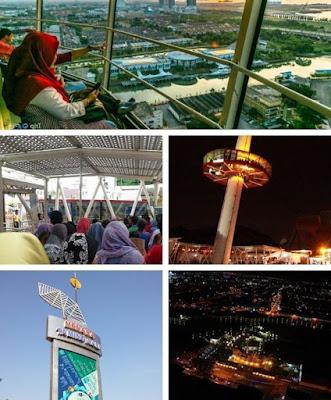 Menara Taming Sari Melaka tempat menarik
