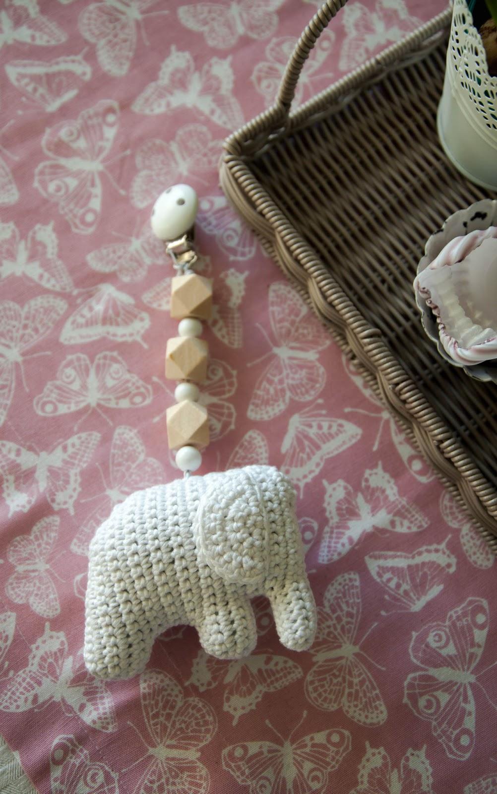 crochet virkkaaminen norsu