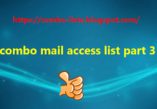 combo mail access list part 3