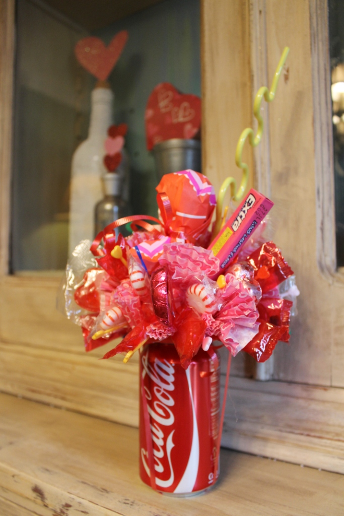 How To Make A Soda Can Candy Bouquet Miss Kopy Kat