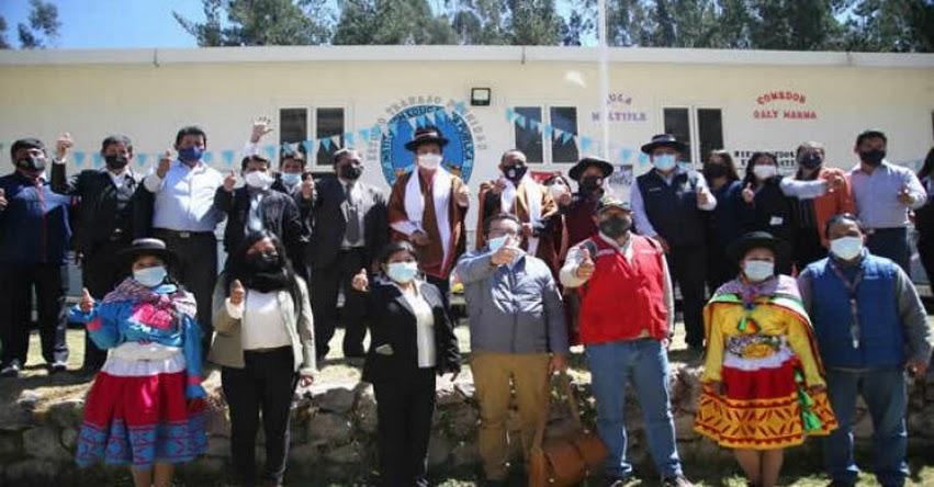 MINEDU: Más de 800 colegios iniciaron clases semipresenciales en Ayacucho
