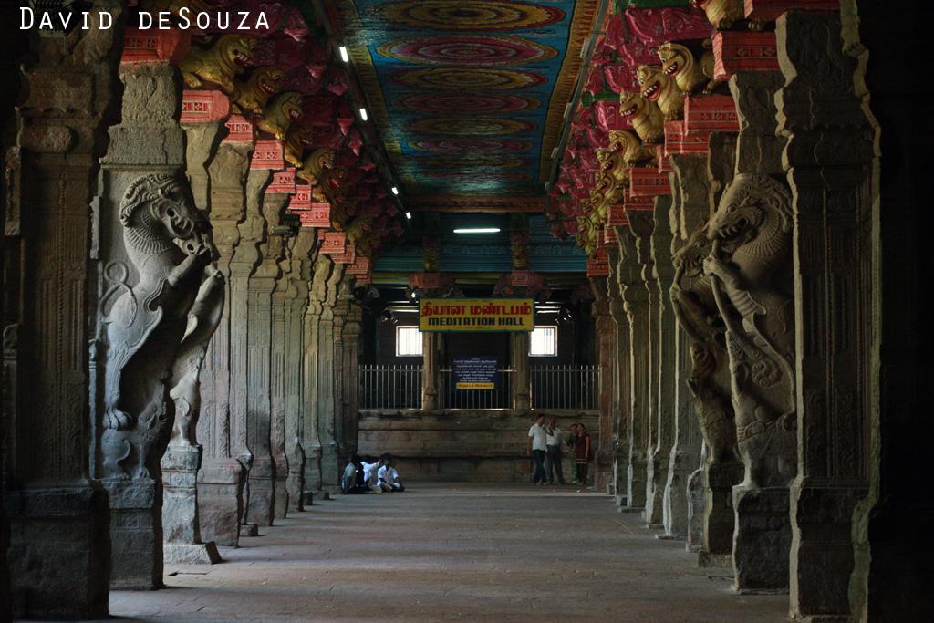 Inside Meenakshi Amman Temple, Madurai, Tamil Nadu