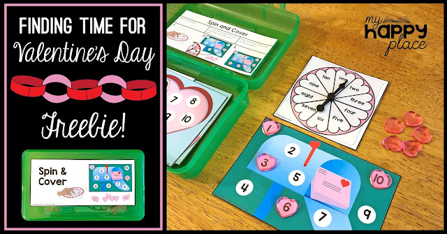 Free Fine Motor Skills Task Box for Valentine's Day
