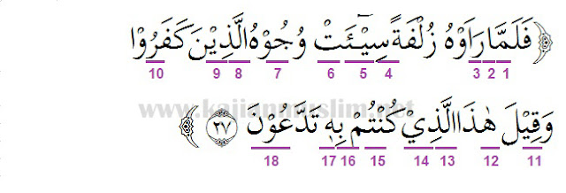 Hukum Tajwid Dalam Al-Quran Surat Al-Mulk Ayat 27