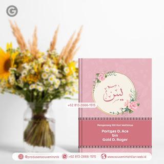 Rp 15.000 Saja, Harga Buku Yasin 128 Halaman Custom