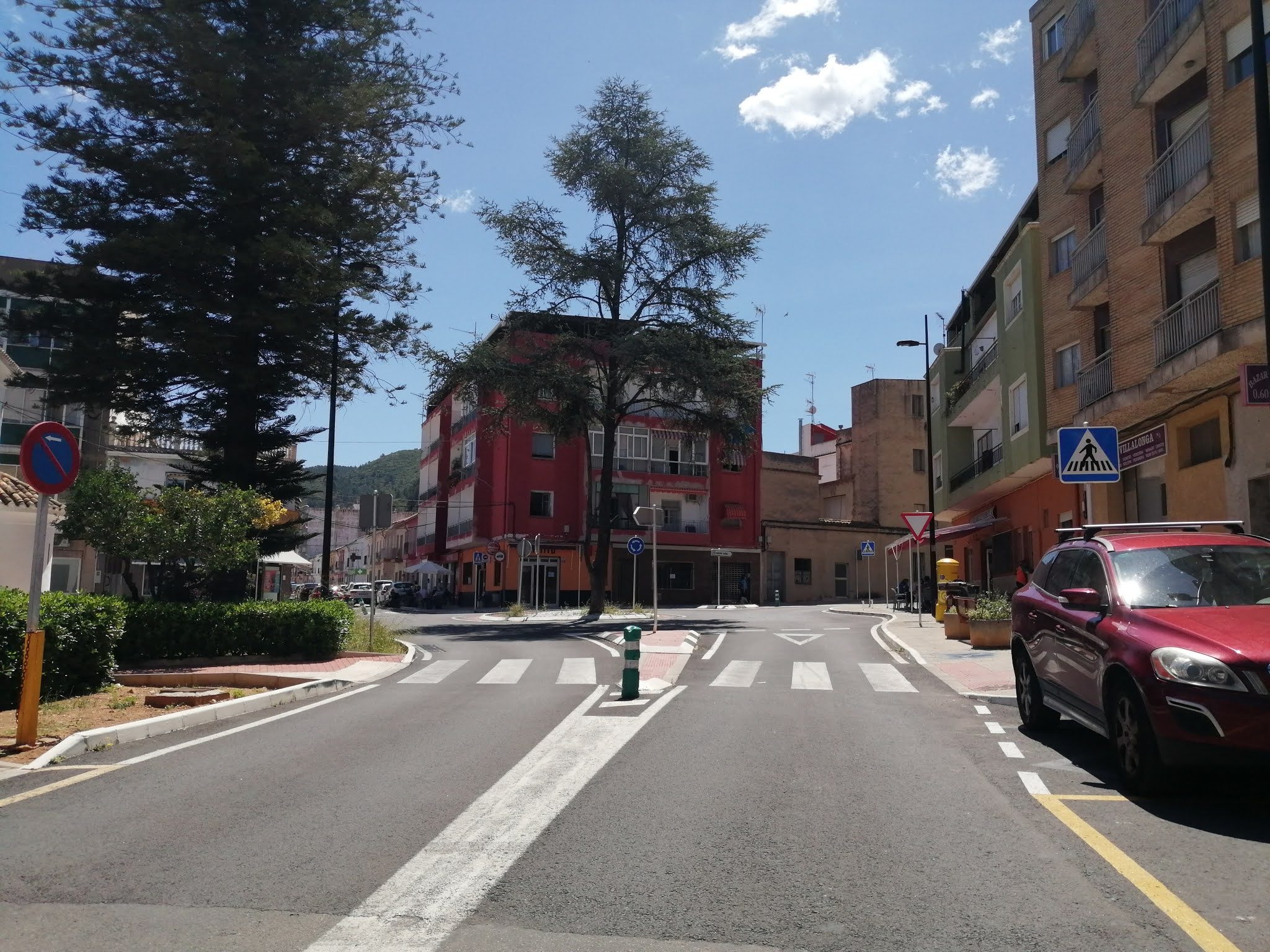 Carrer de Ador in Villalonga, Valencia, Spain