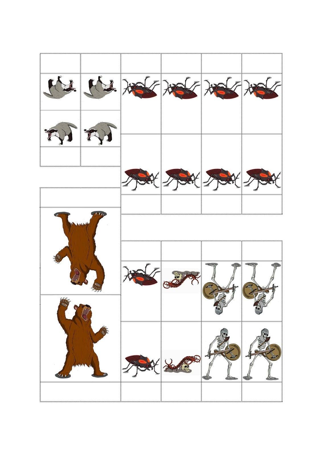 It's just a graphic of Decisive Printable Paper Miniatures