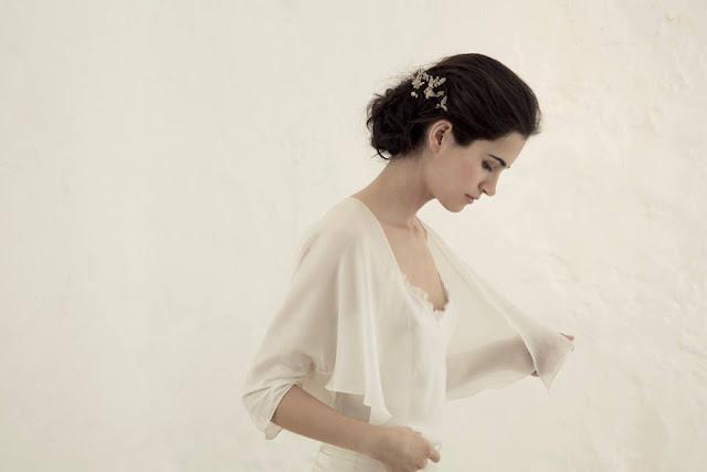 cortana vestido novia original romantico bohemio boda blog