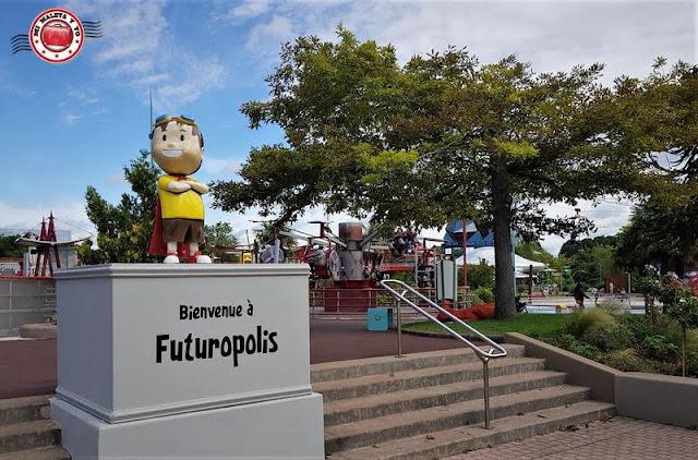 Futuroscope, Poitiers, Francia