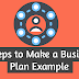 5 Steps to Make a Business Plan Example - Tooprofit.com