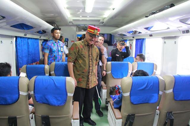 PT. KAI Luncurkan Rute Baru Cilacap - Banyuwangi Lewati Yogyakarta