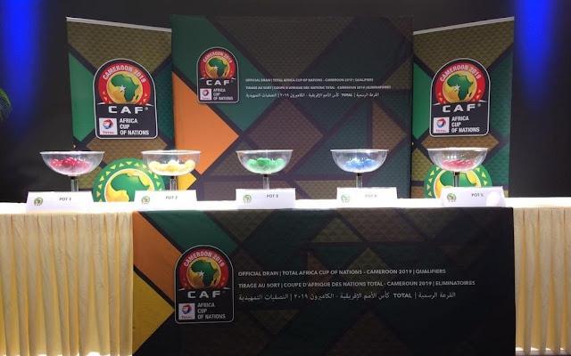 نتيجة قرعه دورى ابطال افريقيا  اليوم 09-10-2019 دور المجموعات