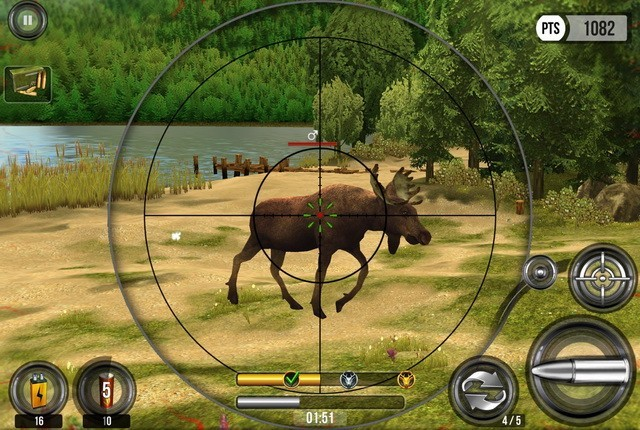تحميل أفضل ألعاب صيد الحيوانات للايفون
