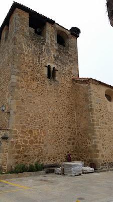 iglesia de nuestra señora de la asuncion en cuacos de yuste