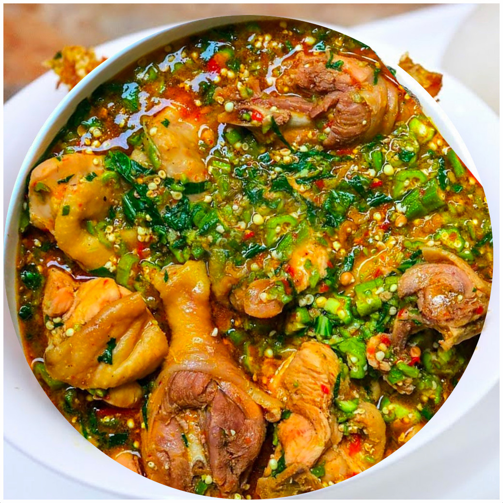 How To Steal Meat From A Hot Pot Of Okro Soup (ACE SAID SO)