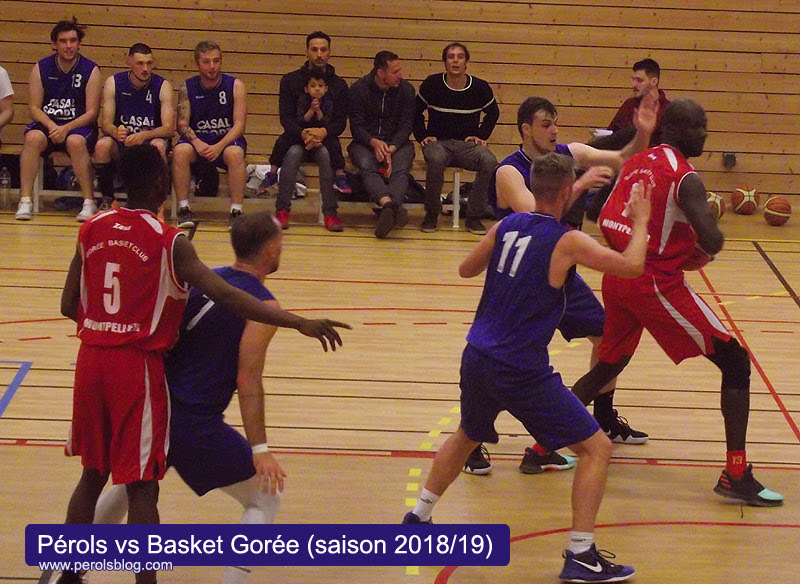ARM Gorée basket vs Pérols
