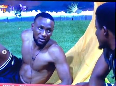 "#BBNaija: ""I Feel Bad"" - Omashola Apologise To Seyi For Putting Him Up For Eviction"