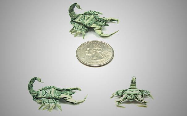 Money-Origami-Scorpions