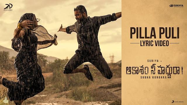 Pilla Puli Telugu Song Lyrics – Aakaasam Nee Haddhu Ra (2020)