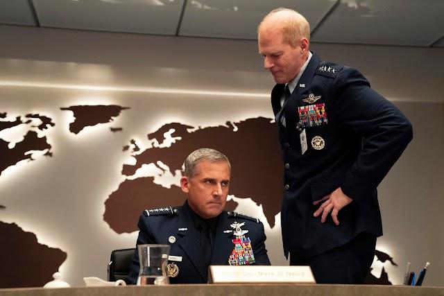 Confira como surgiu a ideia de Space Force, novo filme da Netflix com Steve Carell