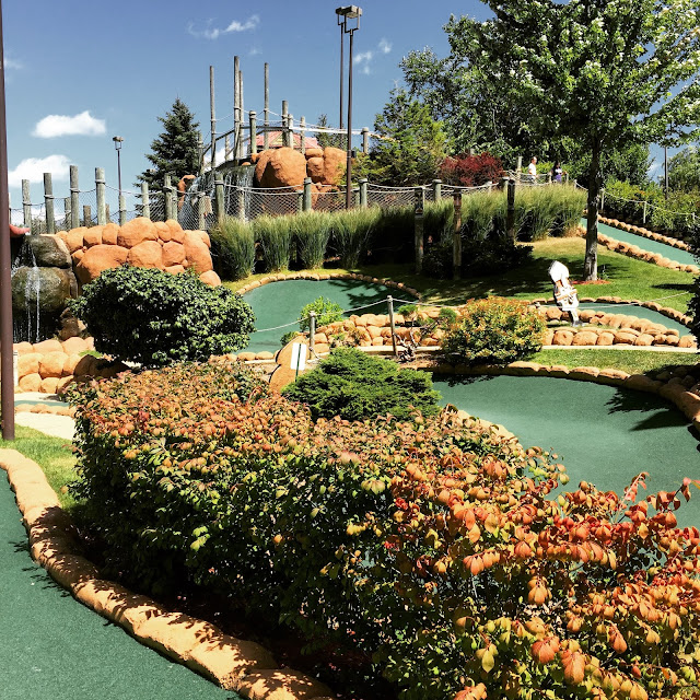 Congo River Adventure Mini Golf in Hoffman Estates incredible mini golf course