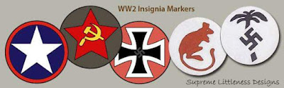 WW2 Insignia Markers by Supreme Littleness Designs