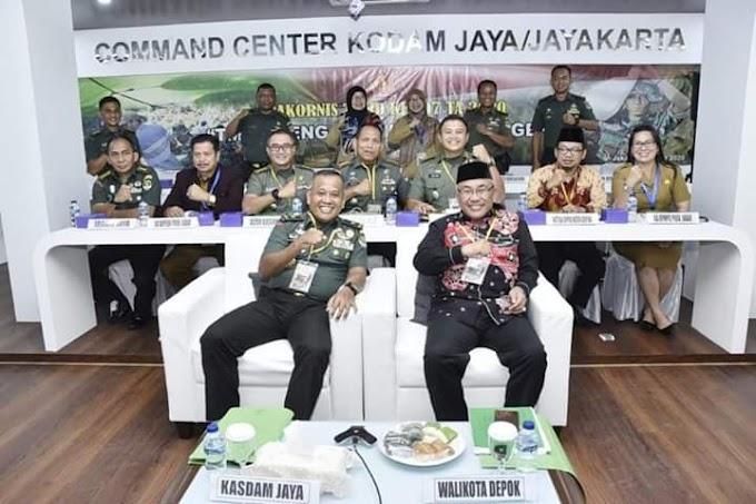 Kecamatan Cilodong Jadi Lokasi TMMD Ke-107 Tahun 2020