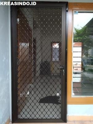 Harga Pintu Kawat Nyamuk Teralis Stainless dan Pintu Expanda Alumunium Terbaru