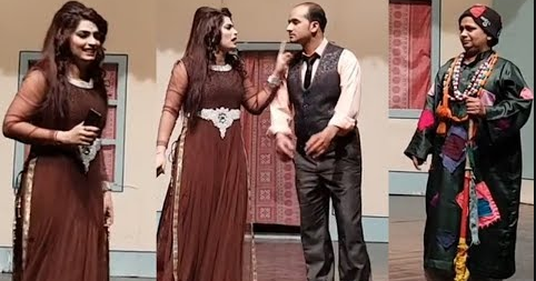 New stage drama 2018 pakistani fashionable dress