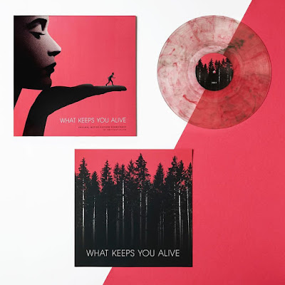 MondoCon 2019 Exclusive What Keeps You Alive Soundtrack Vinyl Record by Brittany Audrey Allen x Burning Witch Records x Lakeshore Records