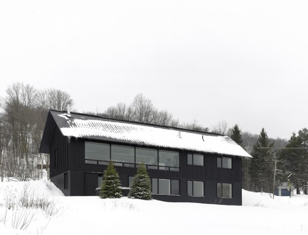 Home  design Contemporary Chalet House  Plans  Canadian