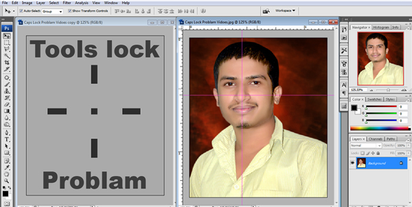 How To Photoshop Tools Lock Problem