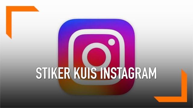 6 Langkah Membuat Stiker Kuis di Instagram Mudah !